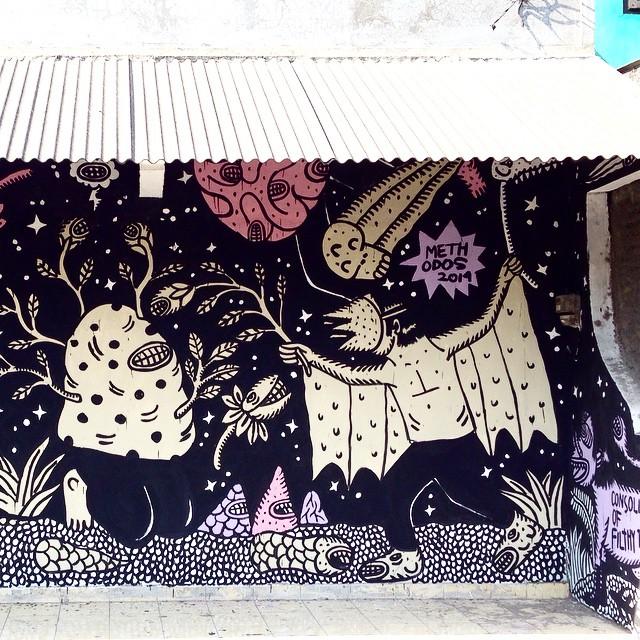 Methodos mural untuk Geneng Street Art Project #2, diambil dari instagram @methodos.jpg