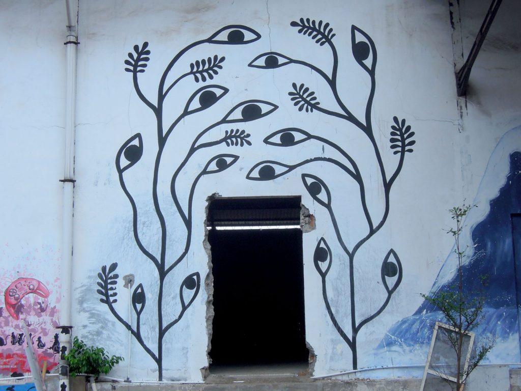 detail karya mural oleh drawmama:marishka soekarna 01