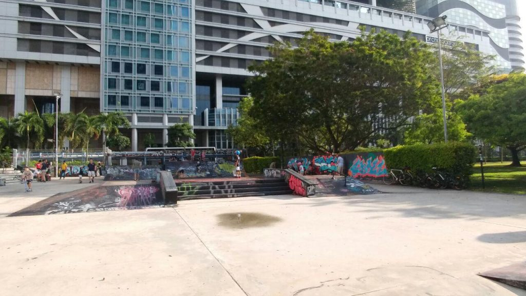 Visualinsite - Somerset Skate Park, 1 Somerset Rd, Singapura (01)