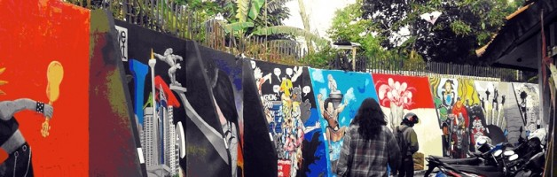 """Beautiful Wall 2012,""""My City, My Identity"""": Membangun Rumah Makan Di Dalam Rumah Sendiri"""