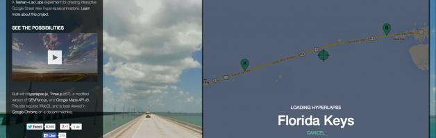 Hyperlapse: Google Street View + Fotografi + Jeda-Waktu