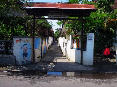 visualinsite – Gang Gerilya, Suryodiningratan, Yogyakarta