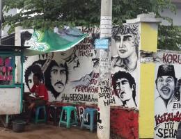 visualinsite – Gang Karet Kemiri Muka, Margonda, Depok