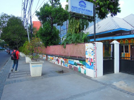 visualinsite – Jl. K.H. Wahid Hasyim (Panti Asuhan Dorkas), Jakarta
